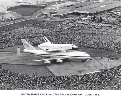 space shuttle landing at stansted - photo #11